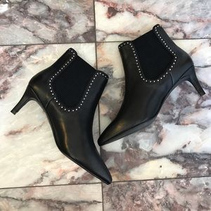 New Sol Sana Pointed Toe Studded Booties